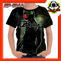 Kaos Masked Rider Black RX Satria Baja Hitam RX Baju Anak Murah