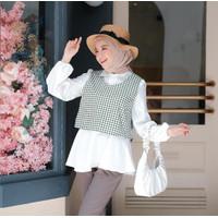 Yuzu Peplum Blouse | Terminal Grosir | Atasan Wanita Original