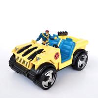 Marvel Comics Animated X-Men Wolverine Jeep 1995 Toy Biz Logan Cyclop
