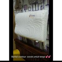 Threrapedic Pillow terapi Leher / Bantal Countur kontur Memory Foam