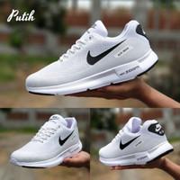 Sepatu Nike Airmax Air Max Zoom Grade Sport Casual Pria Putih Hitam