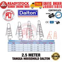 Tangga Alumunium Lipat Dalton ML-410 - 10 Step 2.5 Meter Tangga 2,5 M