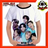 Kaos BTS Boyband Korea Baju Anak cowok cewek murah