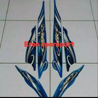 stiker/striping yamaha mio sporty 2010-2011 warna biru
