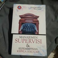 Buku Manajemen Supervisi & Kepemimpinan Kepala Sekolah