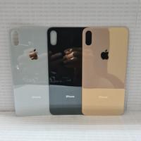 Backdoor Backcover Tutup Belakang Back Casing Iphone XS Max Original - Gold