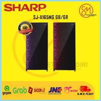 SHARP KULKAS 1 Pintu 133 Liter SJX165MG   SJX 165 MG   SJ-X165MG GR/GB
