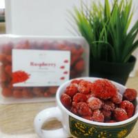 raspberry frozen beku 350 grm