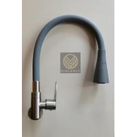 Kran Bak Cuci Piring/Keran Kitchen Sink Stainless/Kran Angsa Fleksibel