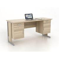Meja kantor rangka besi HARRIS DK 160