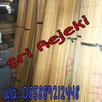 Tirai bambu L 1 x T 2 Tanpa katrol Kerai/ krei/ tirai/ krey