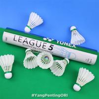 Kok Yonex League 5 Shuttlecock Badminton Bulutangkis Original Asli Ori