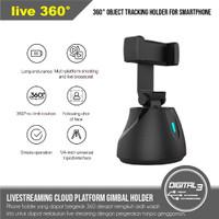 Live 360° Broadcast Auto Object Tracking Phone Holder Gimbal Vlog