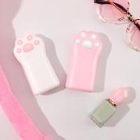 Inone Cat Claw Power Bank 5000mAh Mini Portable - Putih