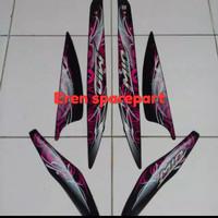 stiker/striping yamaha mio sporty warna hitam 2011-2012