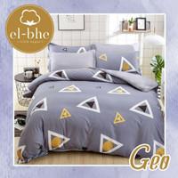 Sprei set bedcover katun El-bhe ukuran 160x200