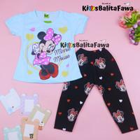Setelan Mickey Mouse uk 2-6 Tahun / Baju Anak Karakter Legging Cewek