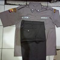 seragam satpam terbaru, seragam security terbaru lengkap atribut
