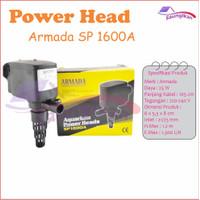 Pompa Air Power Head Aquarium Aquascape Armada SP 1600 A