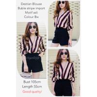 Blouse Wanita Terbaru IMPORT Baju Atasan Wanita Destian Blouse L-XL+