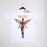 Official Tshirt Band Nirvana In Utero