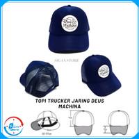 Topi DEUS MACHINA / Topi Jaring Trucker Distro Deus Machina Premium