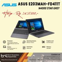 ASUS E203MAH-FD411T STAR GREY N4000 500GB HDD 4GB DDR4 12 WIN10 1YR