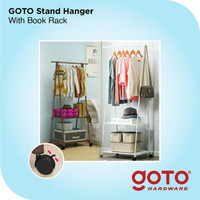 Goto Gita Stand Hanger Triangle Rak Segitiga Gantungan Baju Buku Serba