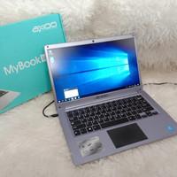 Laptop Axioo Mybook 14 Super Slim Ram 4 GB mulus fullset nominus