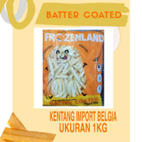Frozenland Kentang Coated 1kg 10