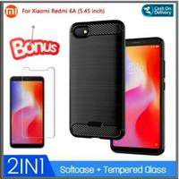 Case Xiaomi Redmi 6A Casing Slim Hp BackCase And Cover - Hitam