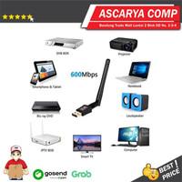 USB WiFi Adaptor 600Mbps Antena