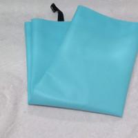 celemek waterproof/apron bahan pvc panjang 90cm - Biru Muda