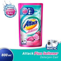 Attack Plus SOFTENER deterjen MATIC cair 800ml | 800 ml.