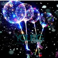 Balon LED PVC/balon LED Rainbow/Balon LED transparan