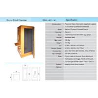 Sound Proof Chamber Audiometri ( Melamic ) BSA-401-M   HPL BSA-401-T