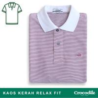 ALMA - Baju Pria Crocodile Men Polo Shirt - Relax Fit - Bahan Katun