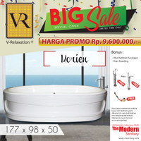 BIG SALE VR BATHTUB STANDING MORIEN