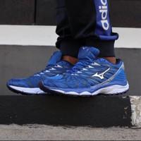 Sepatu Volly Mizuno Wave Prophecy 7 Blue