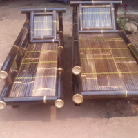 kursi bambu/Bale Bambu selonjoran