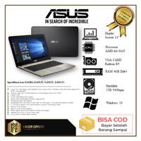 ASUS X441BA - AMD A9 9425 4GB 1TB VGA AMD R5 14 WIN 10 ORIGINAL RESMI