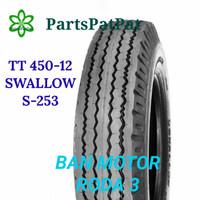 BAN SWALLOW S253 S-253 450-12 4.50-12 450R12 KAISAR NOZOMI VIAR RODA 3
