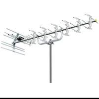 antena tv digital analog uhf pf hdu 19 anten hd u19 tiang tengah