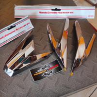 Paket Garnish All New Vario 125 & 150 Isi 2 item Aksesoris Original