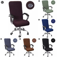Ready Sarung kursi kantor cover kursi kantor cover chair Size L