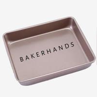 Loyang persegi/rectangle baking pan gold