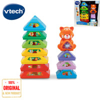 Vtech Baby Stack, Sort & Store Tree Education Baby Mainan Edukasi Bayi