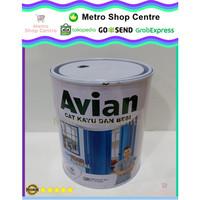 AVIAN - Cat Kayu Besi Avian Matt 1 Kg Hitam Doff / Black Dop (SBM)