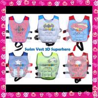 Baju Pelampung Renang Anak Motif Super Hero / Swim Vest Premium! - Hulk