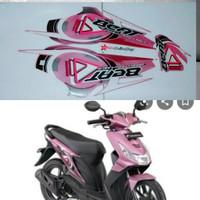 striping list stiker motor beat karbu 2010 pink hitam